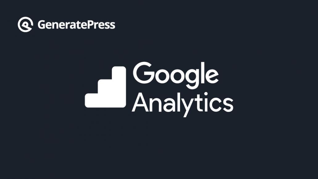 Como Añadir el codigo de Analytics en GeneratePress