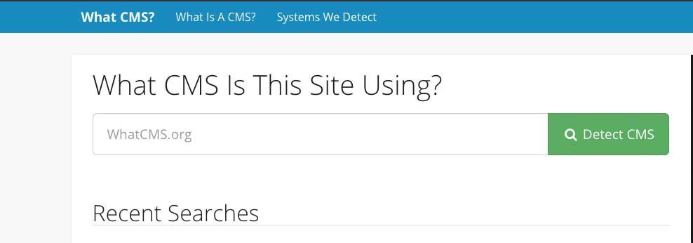 detectar cms whatcms