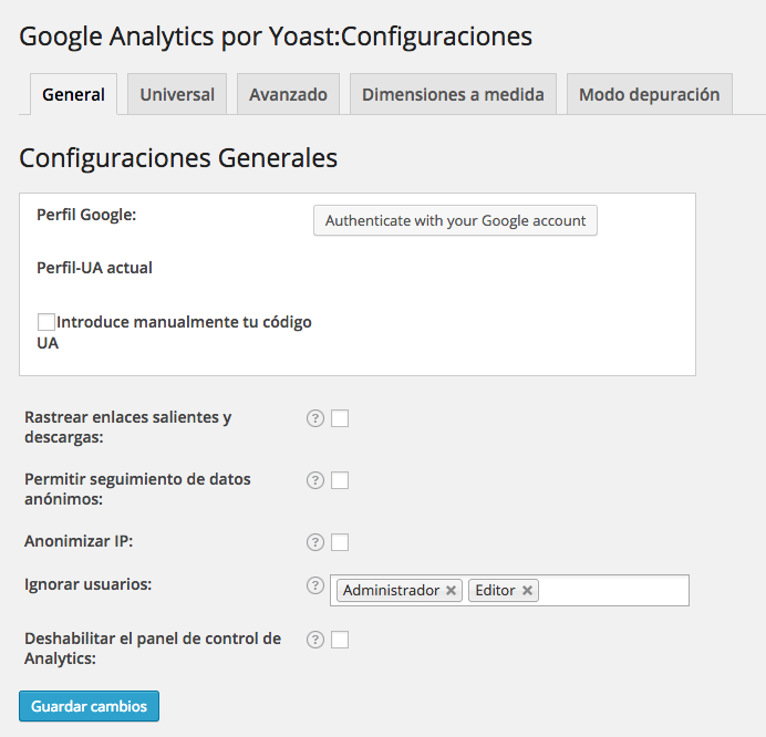 google-analytics-yoast-colocar-codigo-analytics-wordpress