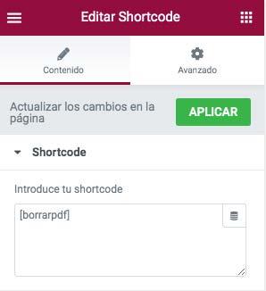 insertar-shortcode-en-elementor