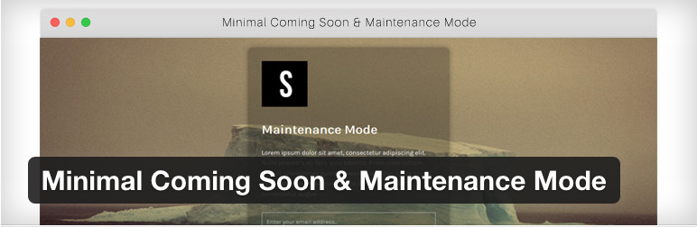 minimal-cooming-soon-plugin-mantenimiento-wordpress
