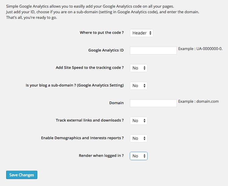 simple-google-analytics-plugin-wordpress